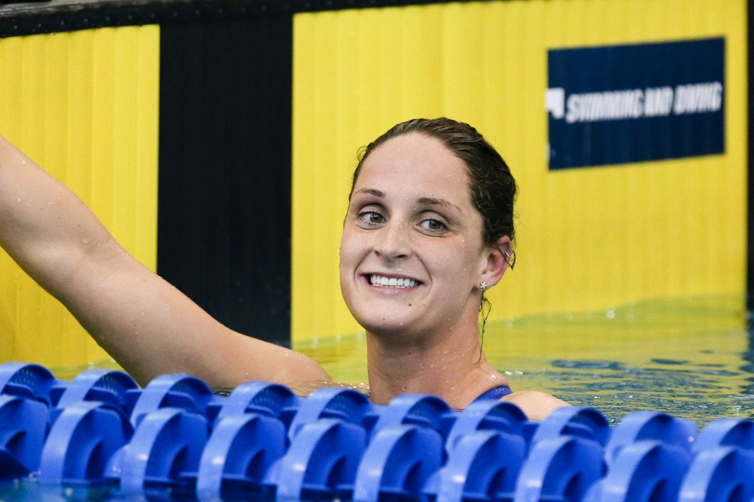 Leah Smith Swims Lifetime Best in 200 Free at Arena Pro Swim-Charlotte