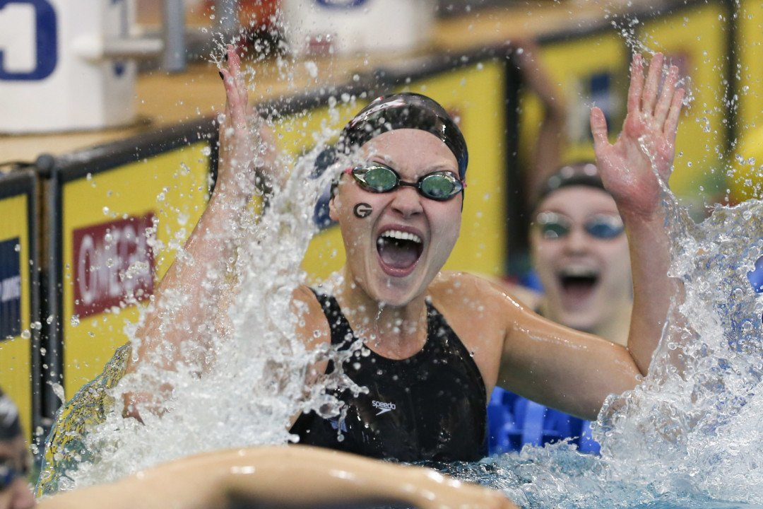 Top 16 Women in Each Event Through the NCAA Midseason Break