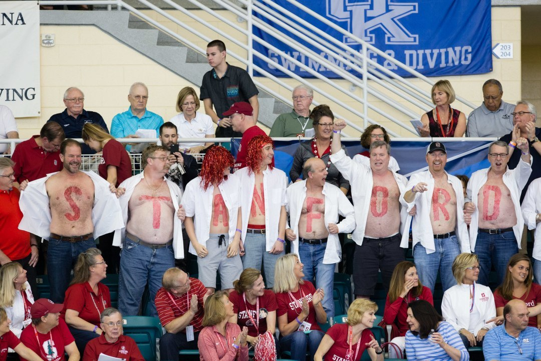 Stanford Women Qualify 2 Divers, Cal Women 1 At Zone E Day 1