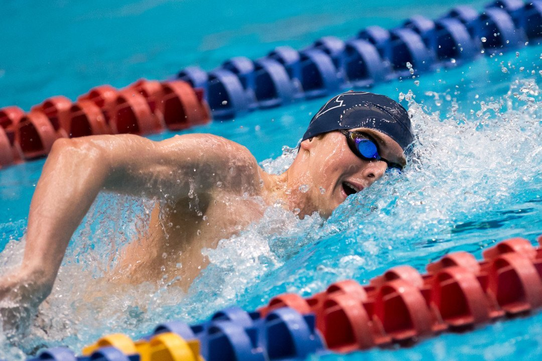 Chris Swanson Becomes First Ever Penn Men's NCAA Swimming Champion