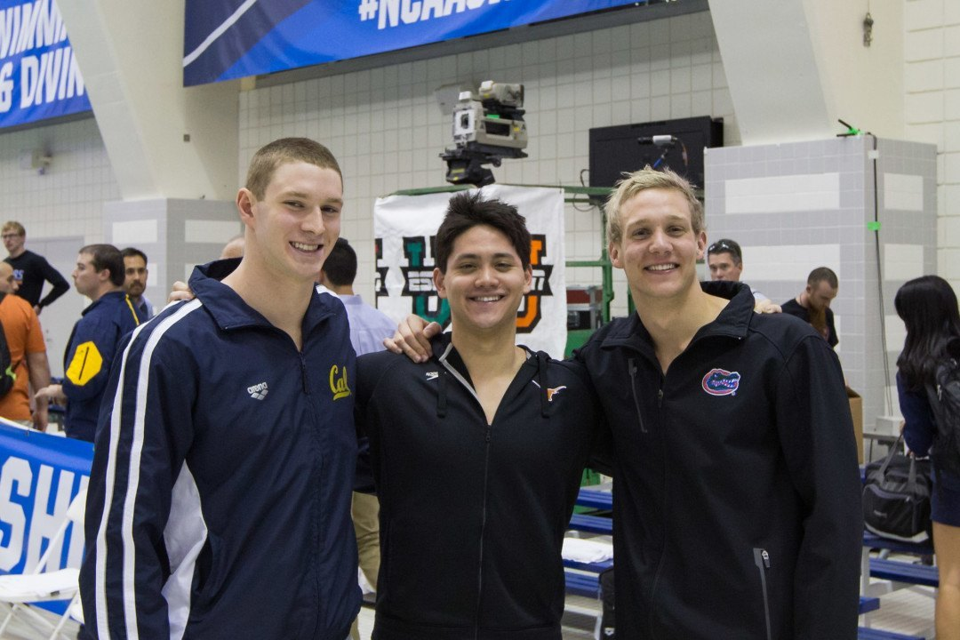 Murphy, Schooling, Dressel Tie For CSCAA's 2016 Swimmer of Year Award