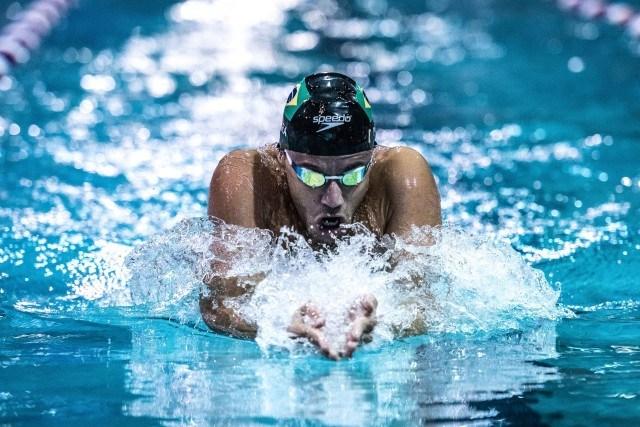 Thiago Pereira wins the 200 IM at the Pro Swim Series in Orlando (photo: Mike Lewis)