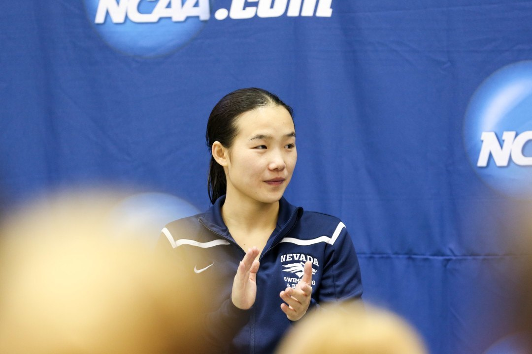 2017 Women's NCAA DI Championships Day 2: Zheng Tops 1-Meter Qualifier