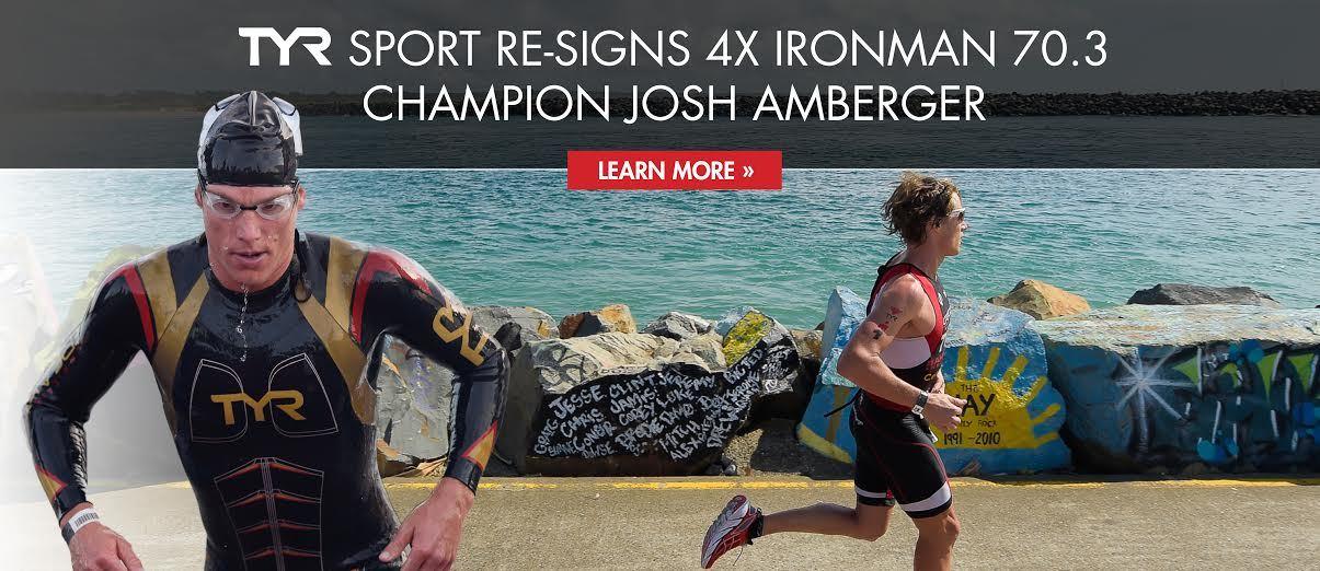TYR Sport Re-signs 4x IRONMAN 70.3 Champion Josh Amberger