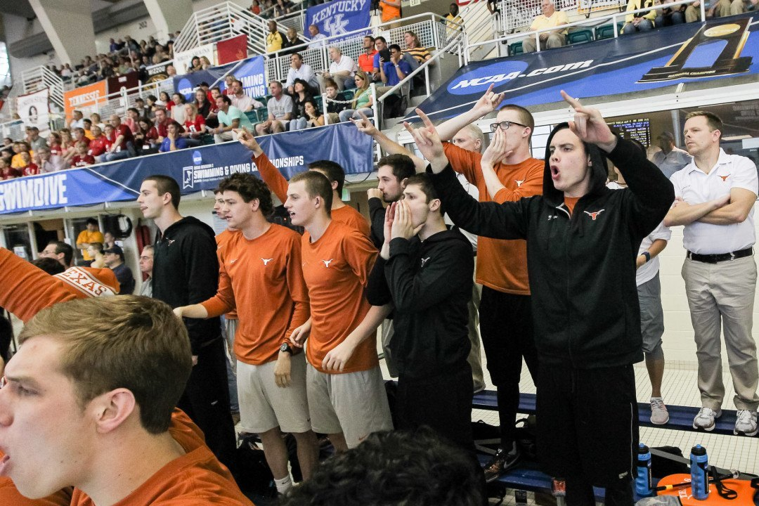 Texas Finishes Zone D With 3 Men, 4 Women Qualified For NCAAs