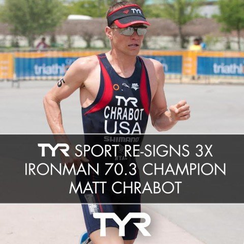 TYR Sport, 3x IRONMAN 70.3 Champion, Matt Chrabot (courtesy of TYR, a SwimSwam ad partner)