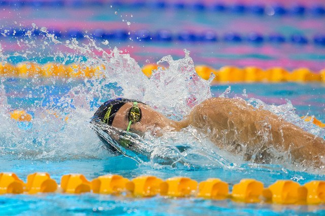 Cameron McEvoy - courtesy of Swimming Australia