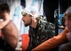Michael Phelps pre-race Mesa, Arizona (photo: Mike Lewis)