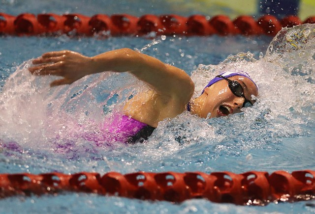 Hattersley Breaks Scottish Record in the 1500 Freestyle