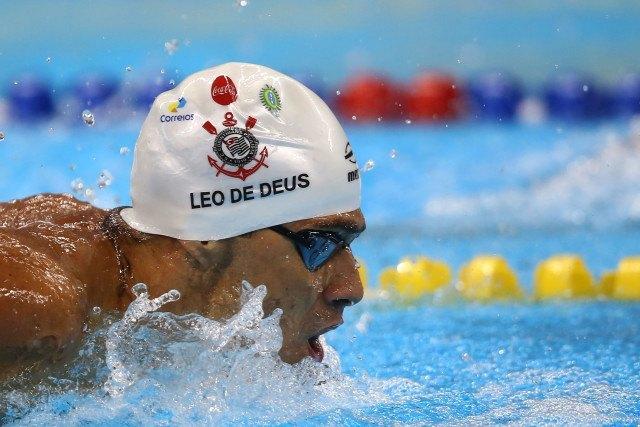 Leonardo de Deus. Trofeu Maria Lenk de Natacao, realizado no Centro Aquatico Olimpico. 17 de abril de 2016, Rio de Janeiro, RJ, Brasil. Foto: Satiro Sodré/ SSPress