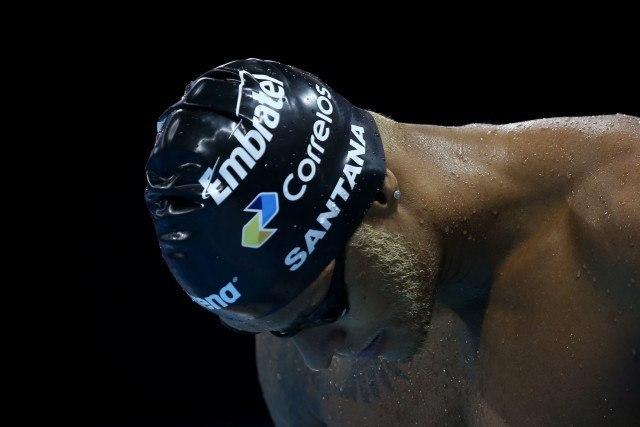 Matheus Santana. Trofeu Maria Lenk de Natacao, realizado no Centro Aquatico Olimpico. 14 de abril de 2016, Rio de Janeiro, RJ, Brasil. Foto: Satiro Sodré/ SSPress