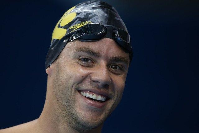 Thiago Pereira. Trofeu Maria Lenk de Natacao, realizado no Centro Aquatico Olimpico. 14 de abril de 2016, Rio de Janeiro, RJ, Brasil. Foto: Satiro Sodré/ SSPress