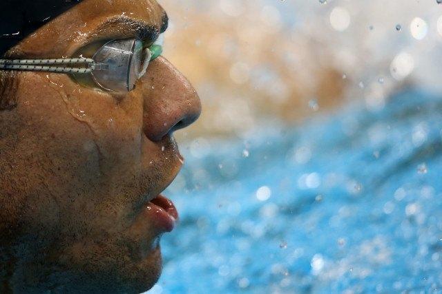 Felipe Franca. Trofeu Maria Lenk de Natacao, realizado no Centro Aquatico Olimpico. 14 de abril de 2016, Rio de Janeiro, RJ, Brasil. Foto: Satiro Sodré/ SSPress