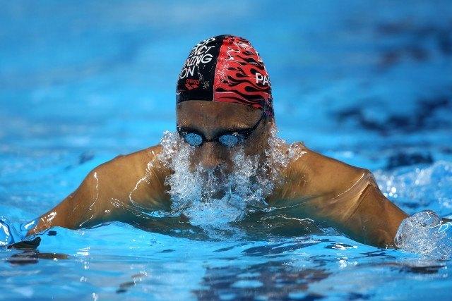 Felipe Lima, Trofeu Maria Lenk de Natacao, realizado no Centro Aquatico Olimpico. 14 de abril de 2016, Rio de Janeiro, RJ, Brasil. Foto: Satiro Sodré/ SSPress