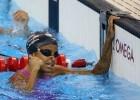 Etiene Medeiros. Trofeu Maria Lenk de Natacao, realizado no Centro Aquatico Olimpico. 16 de abril de 2016, Rio de Janeiro, RJ, Brasil. Foto: Satiro Sodré/ SSPress