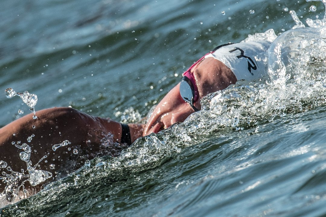 Aurelie Muller Defends 10k Title, France Now 2-For-2 In Open Water