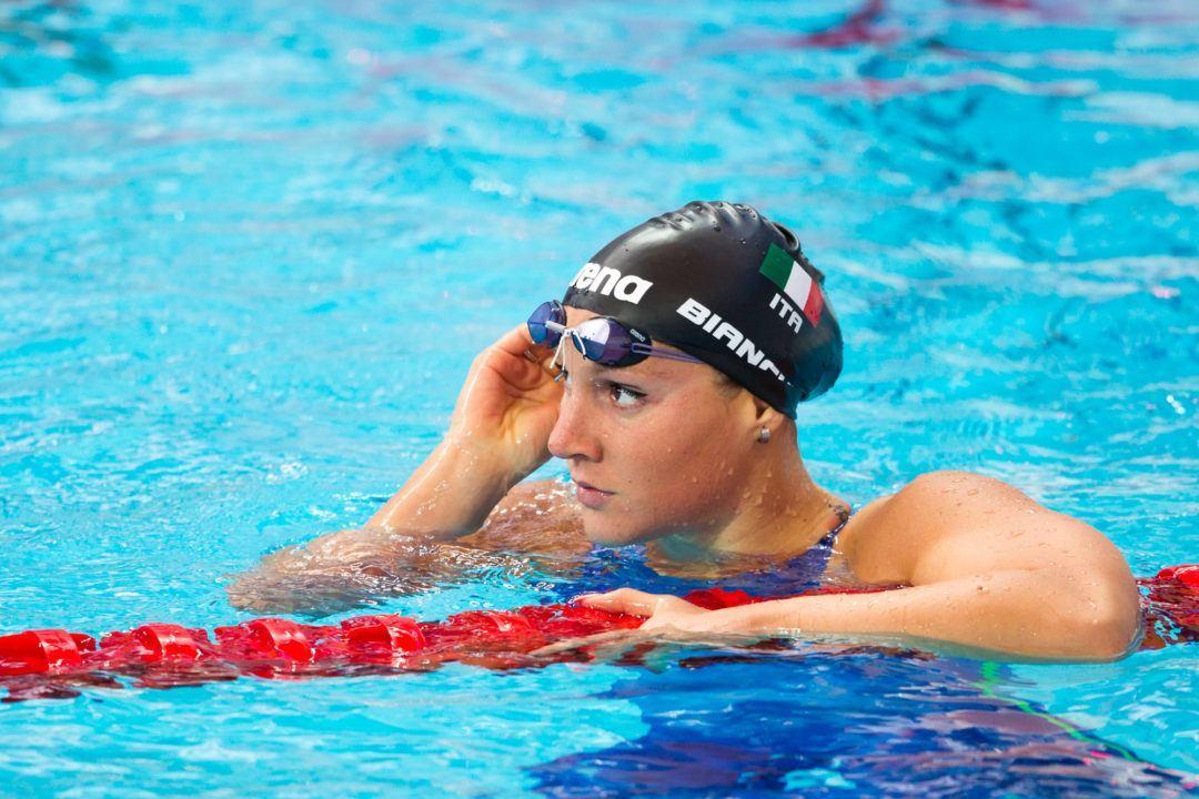 Italian Ilaria Bianchi Scratches Women's 200 Fly Semis