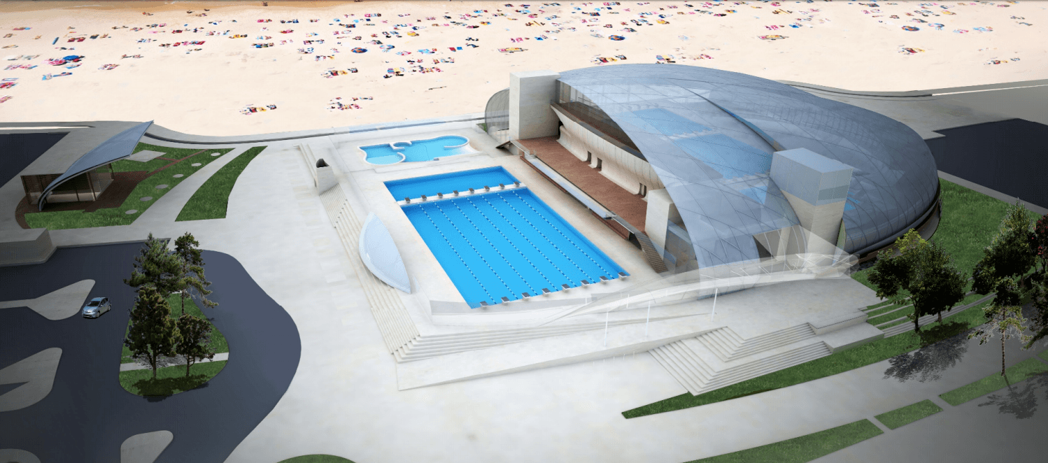 Belmont Plaza Olympic Pool Rebuild Modifies Plans for New Pool