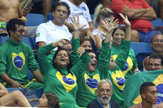 Trofeu Maria Lenk de Natacao, realizado no Centro Aquatico Olimpico. 15 de abril de 2016, Rio de Janeiro, RJ, Brasil. Foto: Satiro Sodré/ SSPress