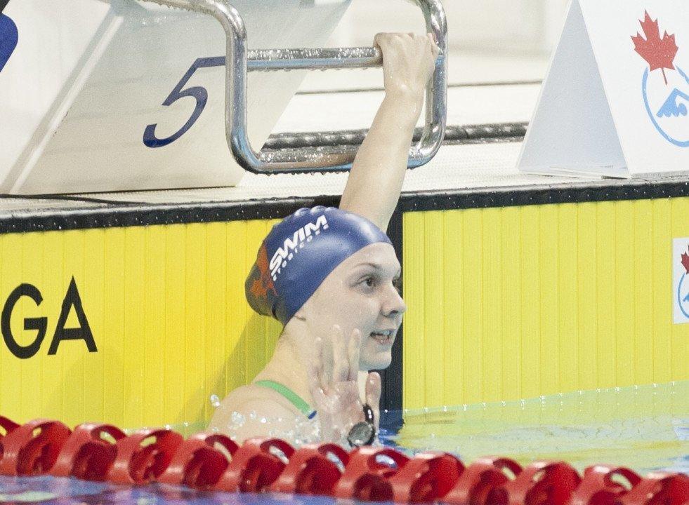 Brittany MacLean Throws Down Third Fastest 800 Free This Season