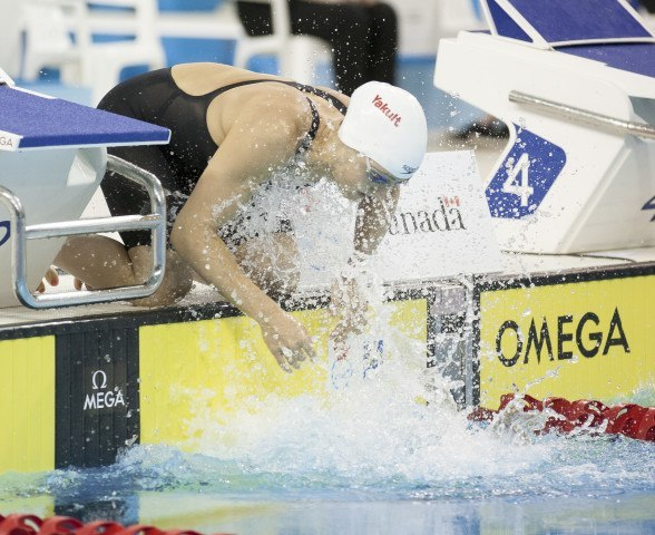 Sandrine Manville 2016 Swimming Canada Olympic Trials.