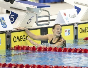 Penny Oleksiak 2016 Swimming Canada Olympic Trials.