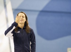 WATCH: Sandrine Mainville Is A Key Part of Canada's 4×100 Free Relay