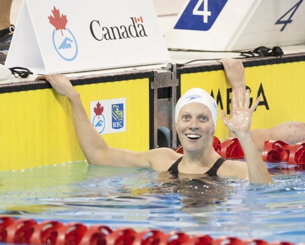 Martha McCabe 2016 Swimming Canada Olympic Trials.
