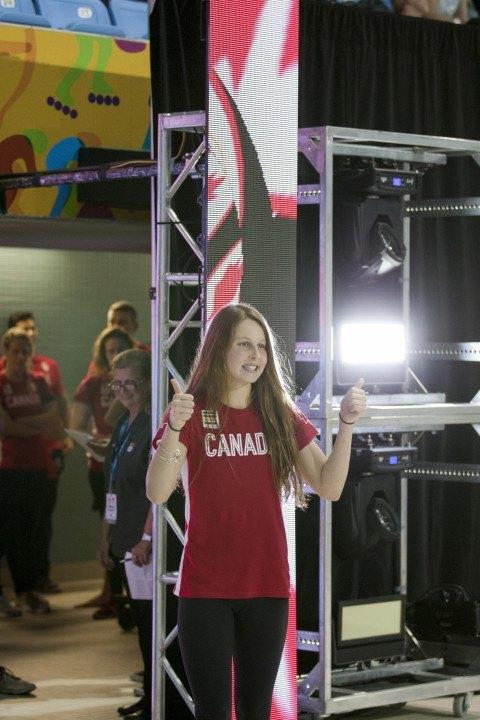 Canadian Sydney Pickrem Hands Katinka Hosszu Rare Loss in 200 IM