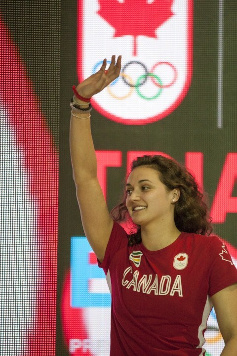 Kylie Masse Breaks CAN Record In 100 Back, Wins First Olympic Medal