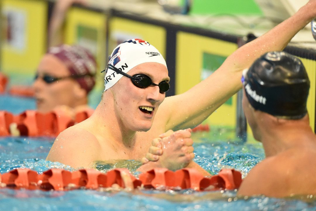 Horton Becomes 2nd-Fastest Australian 1500 Freestyler Of All Time