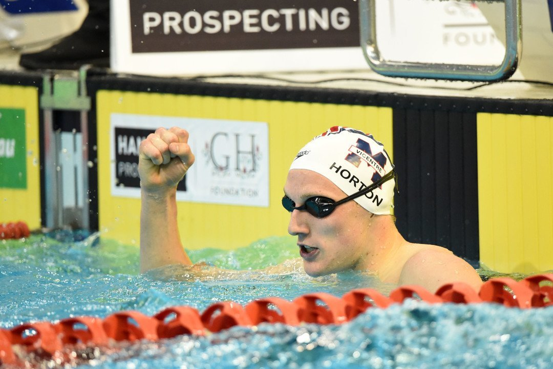 Aussie Mack Horton Heats Up Rivalry With China's Sun Yang