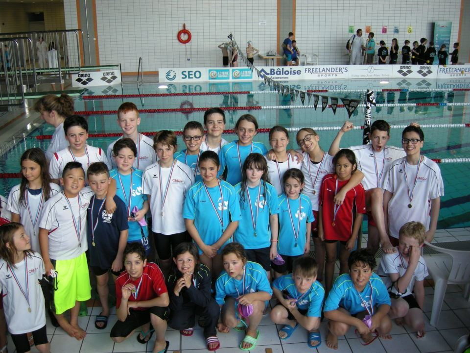 Vielseitigkeitswettbewerb für junge Schwimmer in Luxemburg