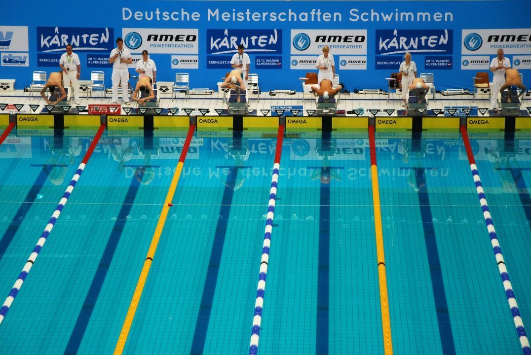 16-year-old Artem Selin posts 21,53, 50 free, at German SC Nationals
