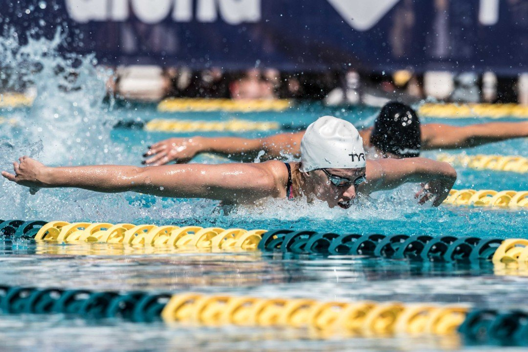 2016 Olympic Trials: Vollmer Back on Top of American 100 Butterfly