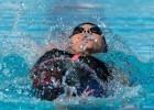 Fernanda Gonzalez prelim swim 200 backstroke Mesa, Arizona (photo: Mike Lewis)