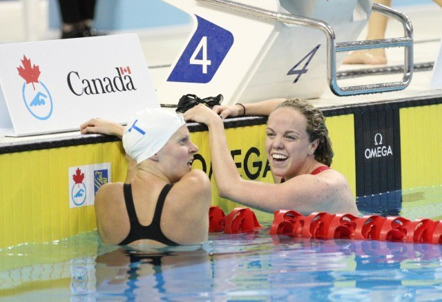 Kierra Smith Martha McCabe 200 breaststroke 2016 Canadian Olympic Trials