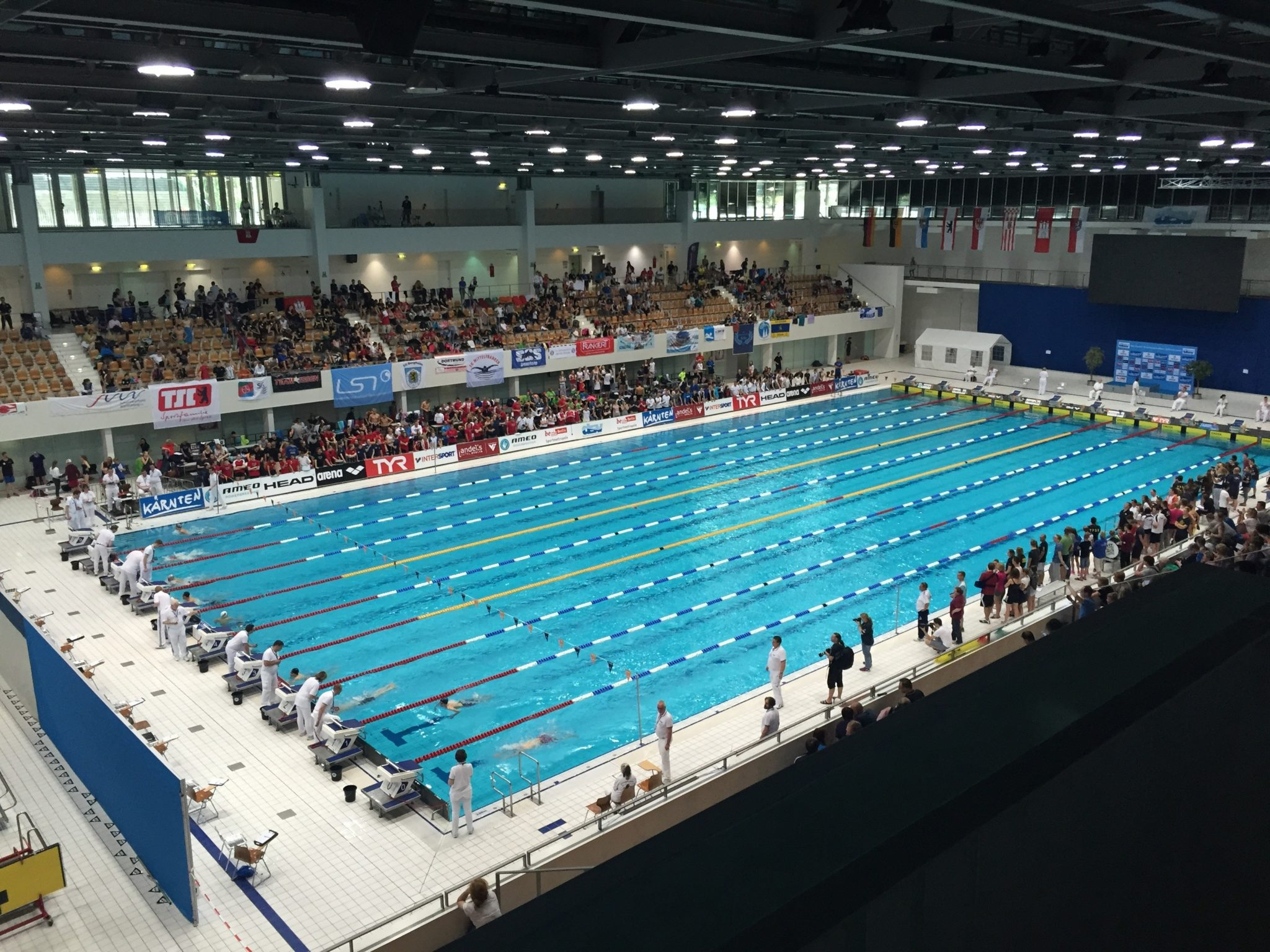 German Junior Nationals: Age group records were broken on day 1
