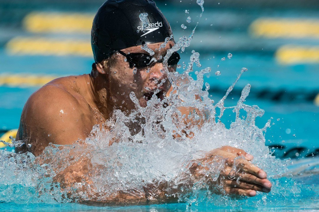 Jimmy Deiparine Sets New Filipino Record in 100 Breast in Santa Clara