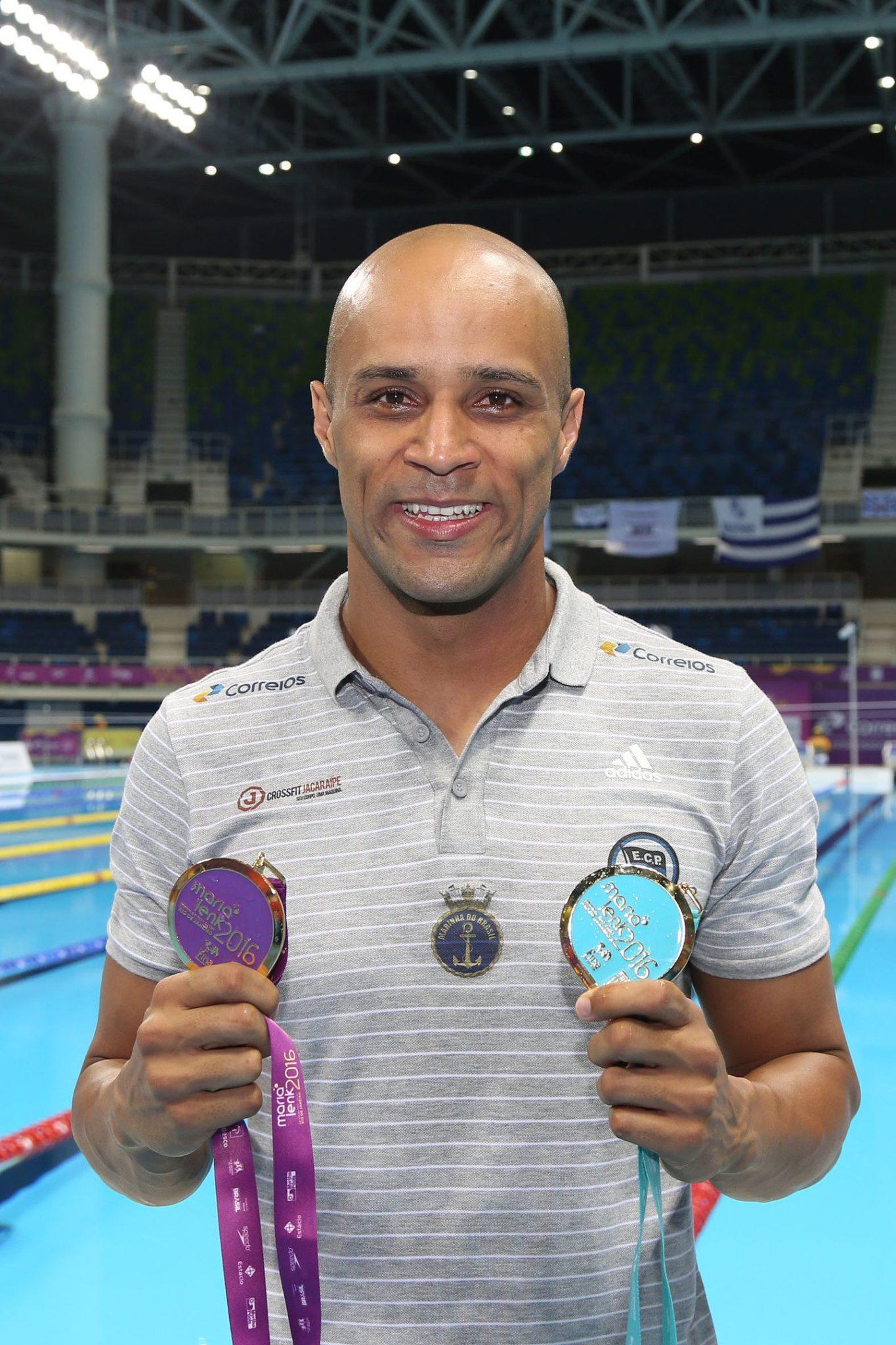 Trofeu Maria Lenk de Natacao, realizado no Centro Aquatico Olimpico. 15 de abril de 2016, Rio de Janeiro, RJ, Brasil. Foto: Ricardo Sodré/ SSPress