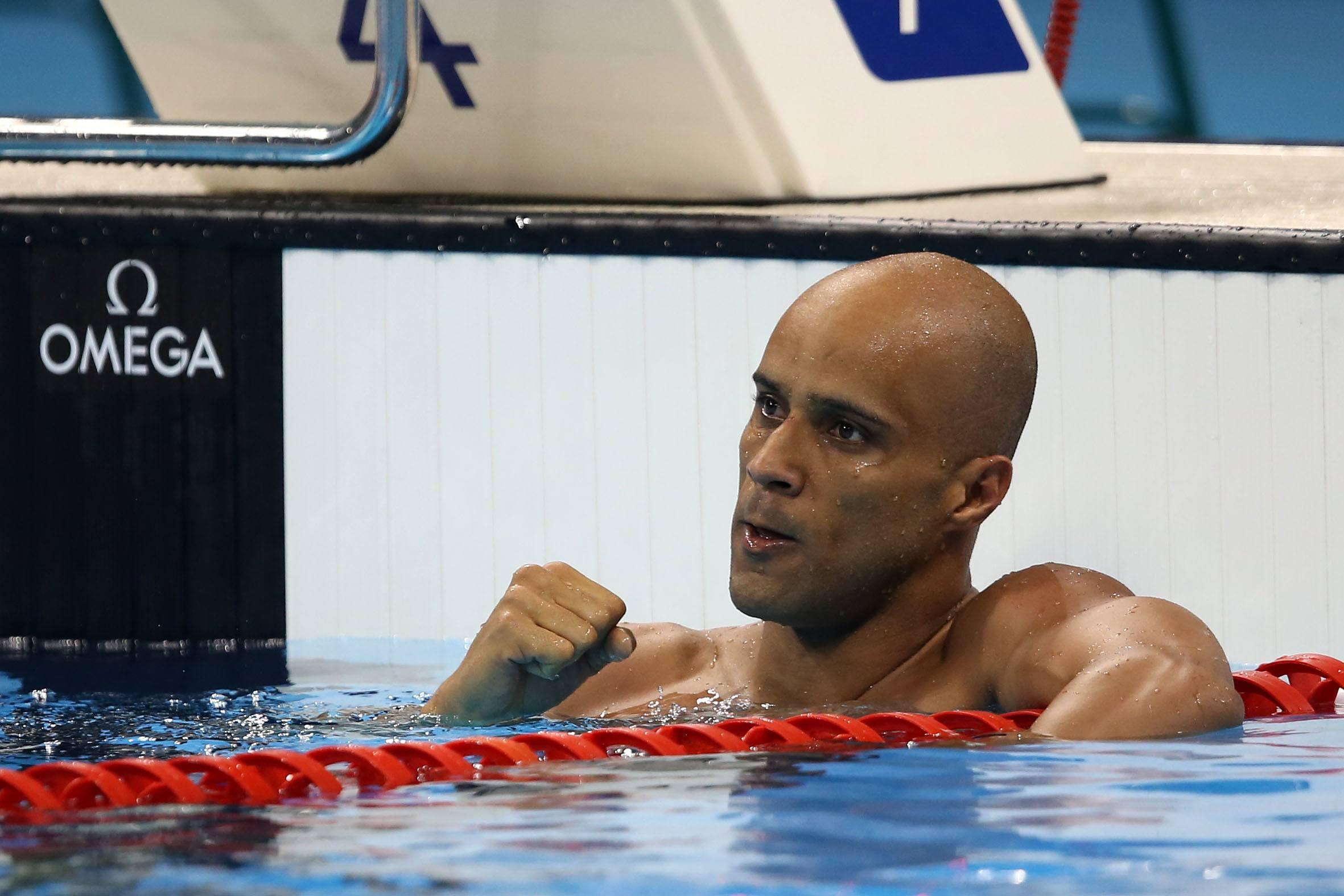Joao Gomes. Trofeu Maria Lenk de Natacao, realizado no Centro Aquatico Olimpico. 15 de abril de 2016, Rio de Janeiro, RJ, Brasil. Foto: Satiro Sodré/ SSPress