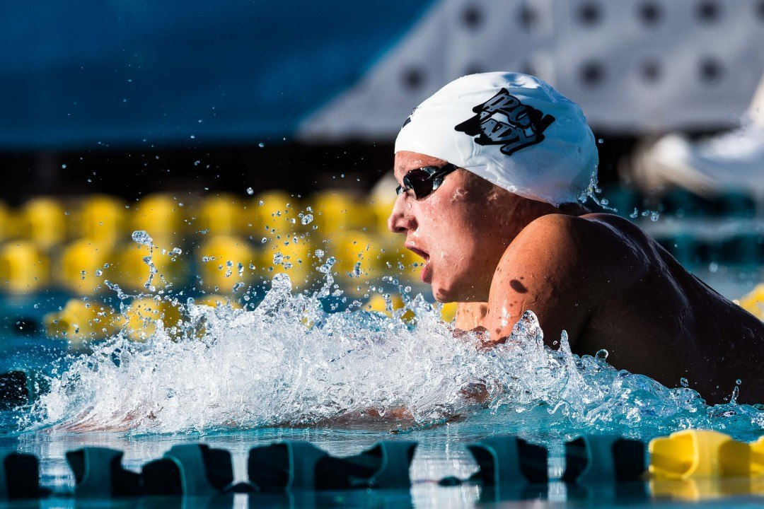 Katinka Hosszu Breaks Own Championship Record in 400 IM At Europeans