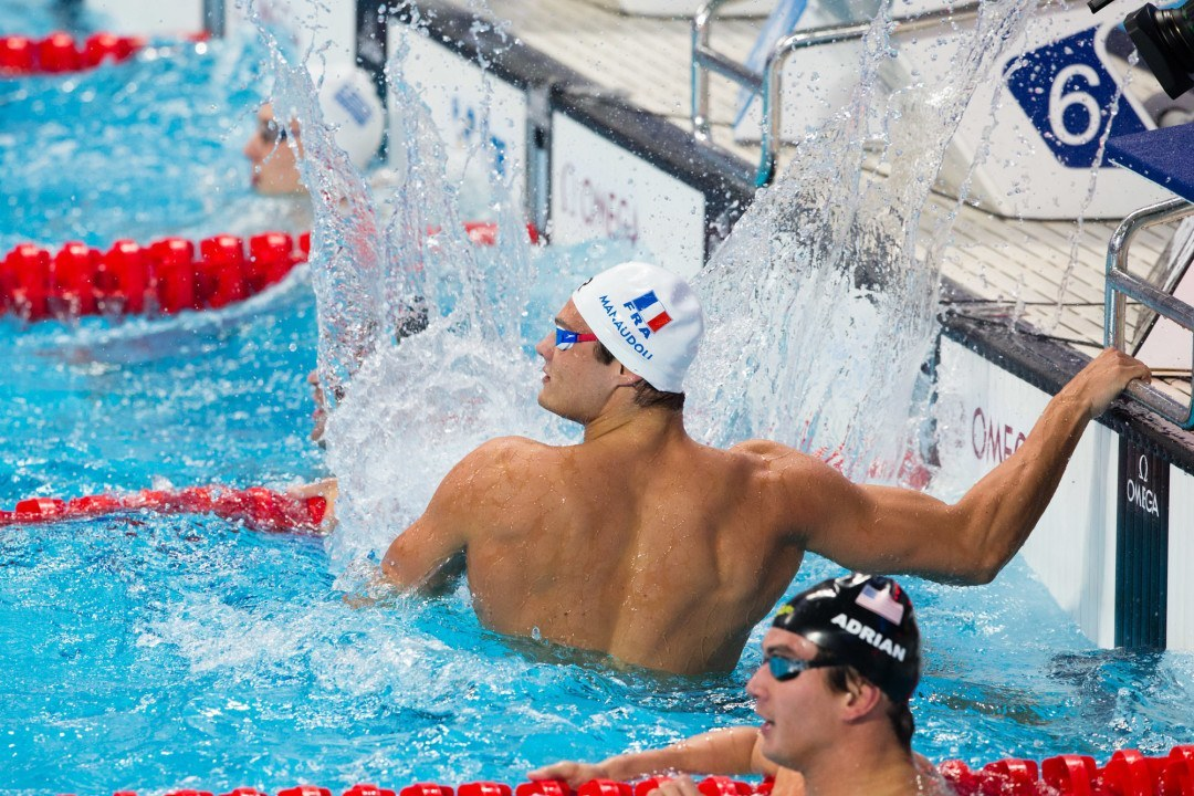 "Florent Manaudou on Skins Race: ""It was like a fight"" (Video)"