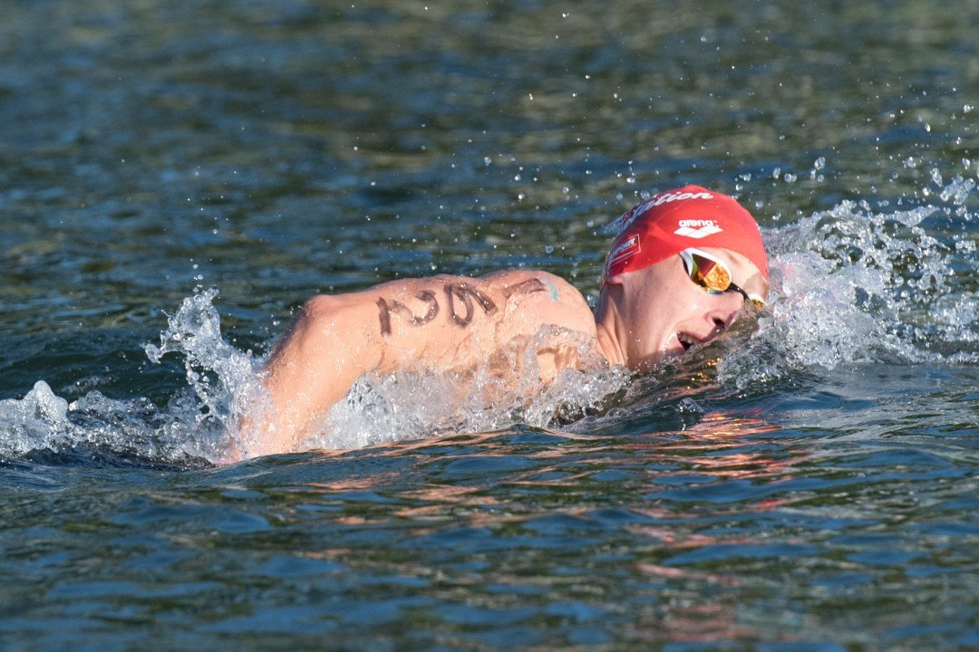 Marc Antoine Olivier Wins Tight Open Water 5K Battle Over Ous Mellouli
