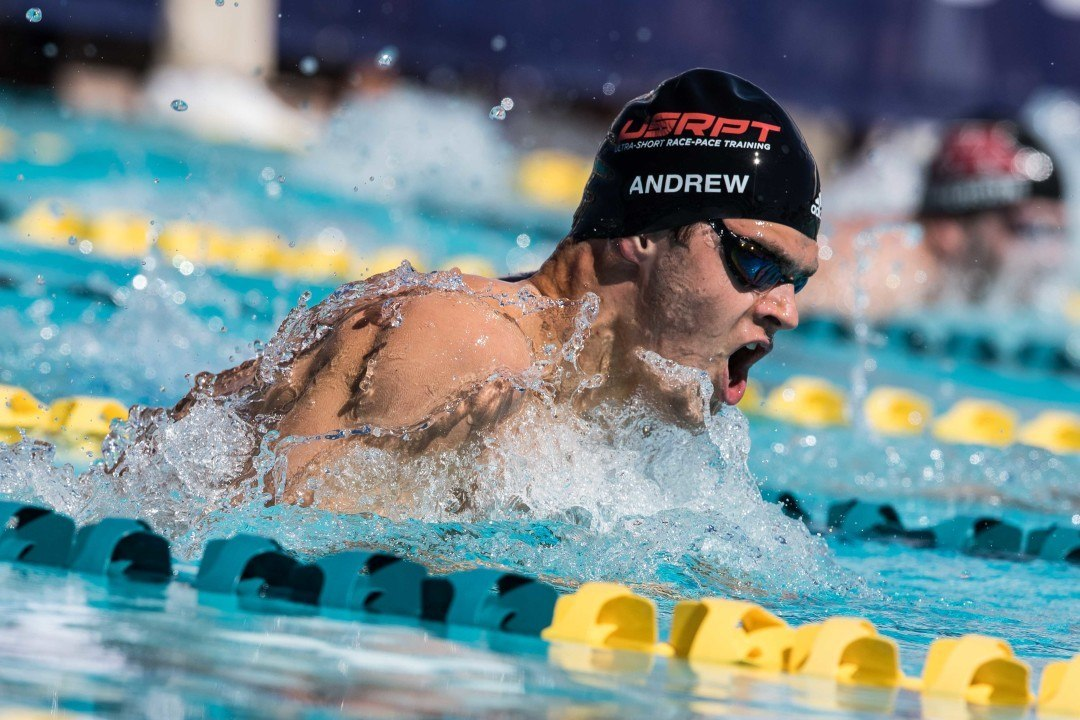 Michael Andrew Breaks Kevin Cordes' NAG Record in 100 Breast