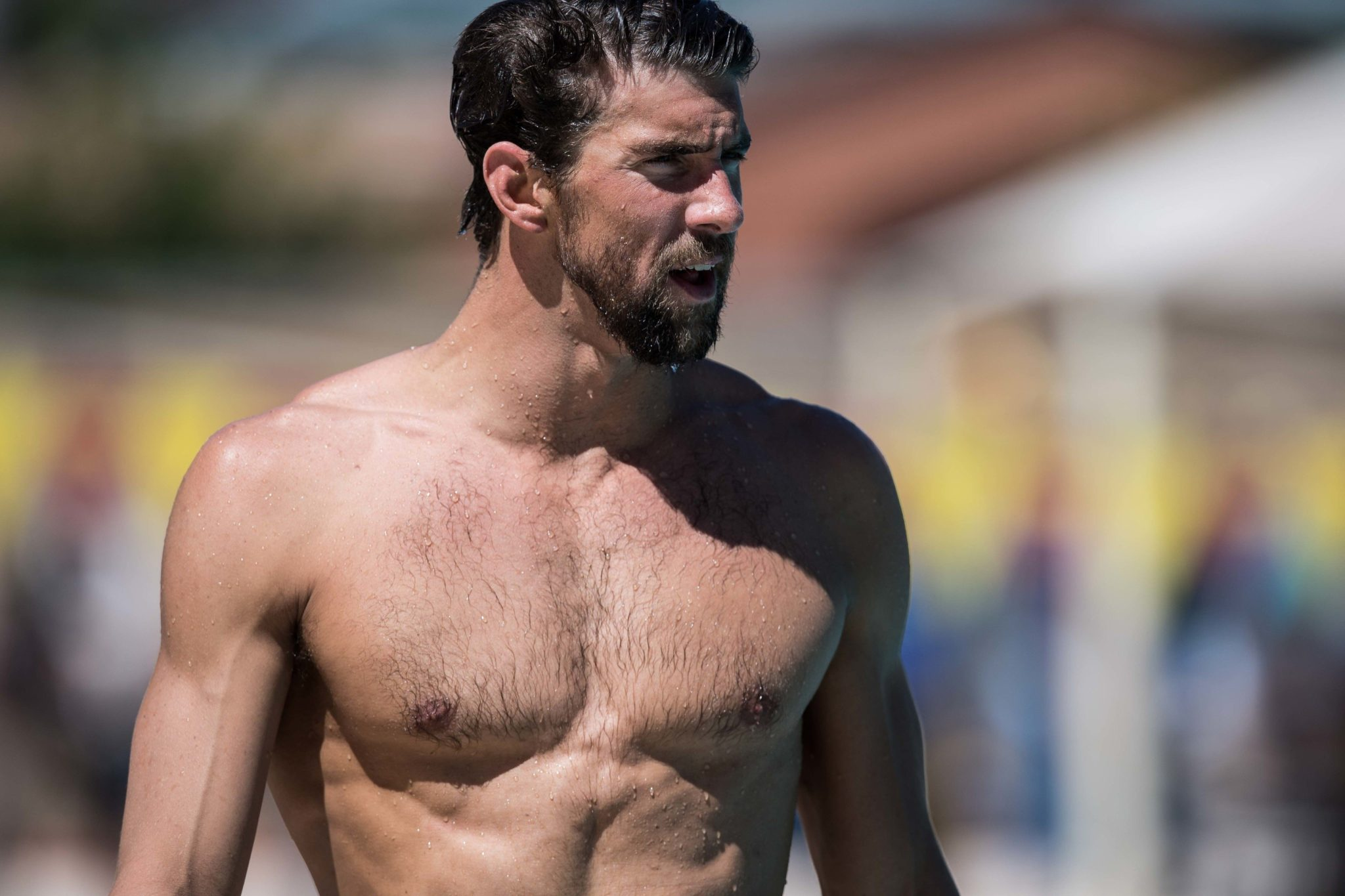 Michael Phelps Hairy Chest - Other - Video Xxx-7767