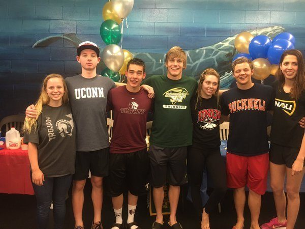 7 Nitro Swimmers Make College Choices During Spring Signing Period