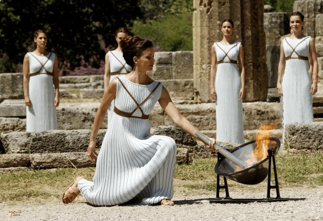 Olimpiadi di Tokyo: Fermato Il Tour Della Torcia Olimpica In Grecia