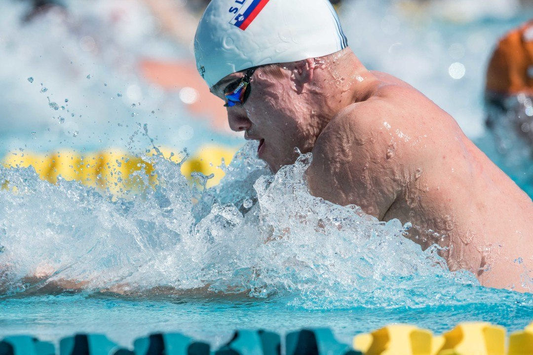 Robert Zbogar Clips 200 Fly National Record At Slovenian Championships