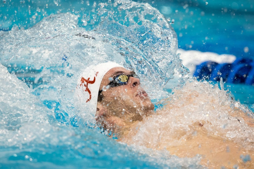 Christopher Reid Breaks African Record in 100 Back Prelims in Durban